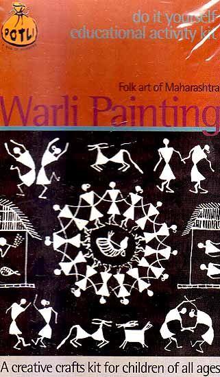 Warli Painting Folk Art of Maharashtra (Do it Yourself Educational Activity kit)