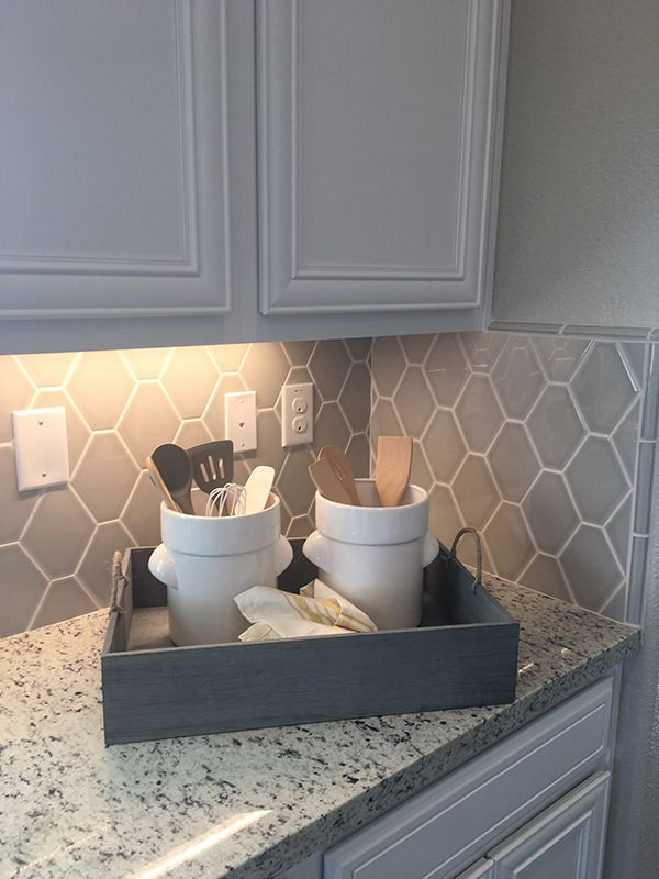 Hexagon Shaped Tile Adds Nice Dimension To Any Wall Application Kitchen Or Bath Https Kitchen Wall Tiles Backsplash Kitchen Design Decor Kitchen Wall Tiles