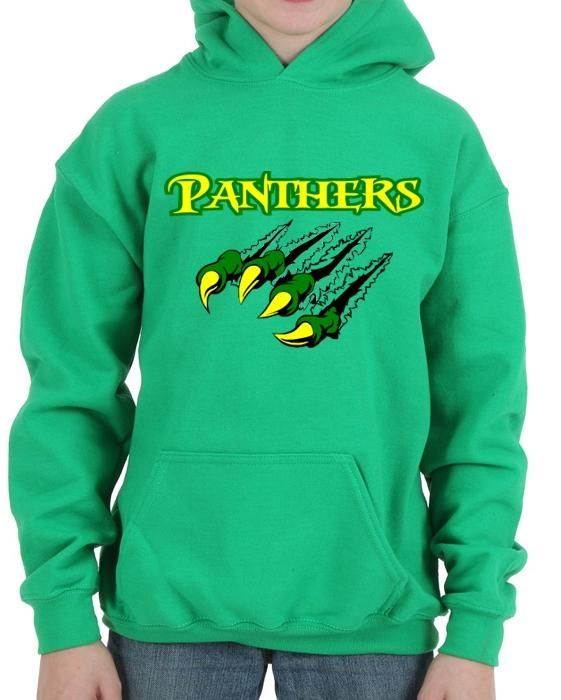 Little Miami Panthers Claw Ripping Hoodie