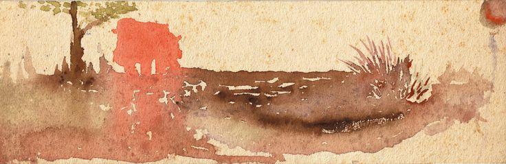 Cadáver Exquisito (acuarela)