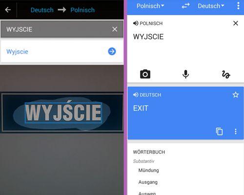 Google Übersetzer hilft bei Sprachbarrieren