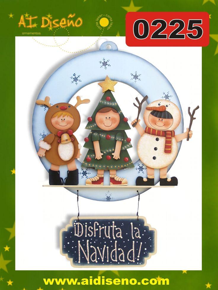 Navidad madera country en pinterest pintura natividad for Pintura para madera