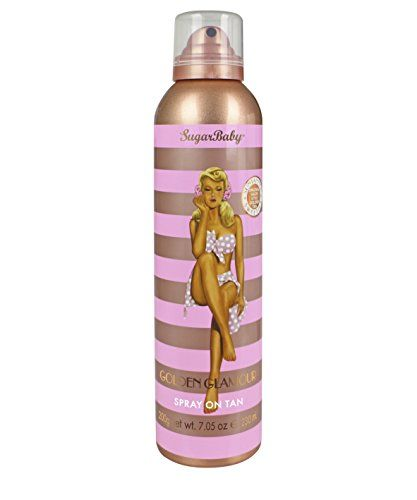 SugarBaby Golden Glamour Spray on Tan 705 Fl Ounce *** This is an Amazon Affiliate link. You can find more details by visiting the image link.