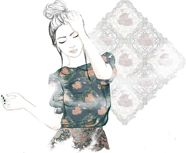 lucie birant: Mamie tapisserie
