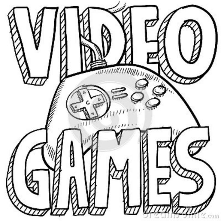 25 best Video Game Coloring Pages images on Pinterest
