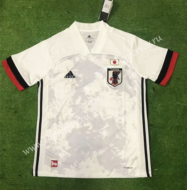 2020 2021 Japan Away White Thailand Soccer Jersey Aaa Soccer Jersey Soccer Football Sweater