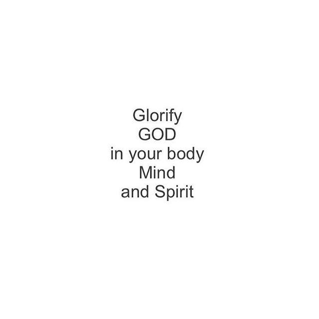 1 Corinthians 6:19-20  #ChurchBound