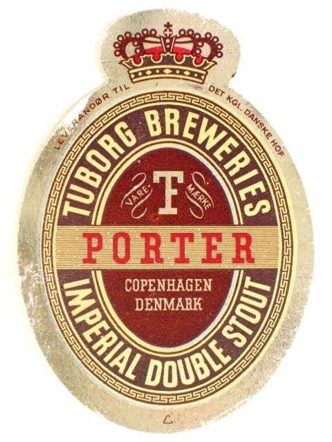Cerveja Tuborg Porter Double Stout, estilo Porter, produzida por Carlsberg, Dinamarca. 8.2% ABV de álcool.