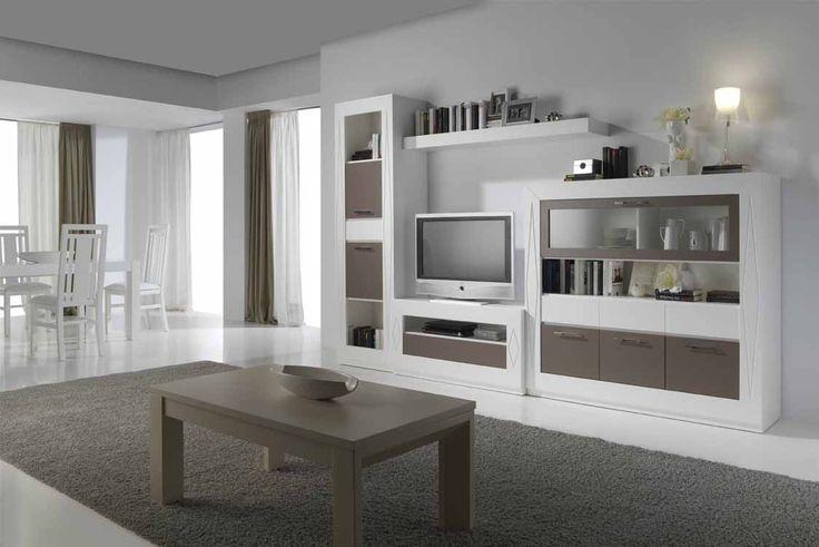 Muebles Muñoz – Catálogo de Muebles Salones Rústicos modelo Herrera