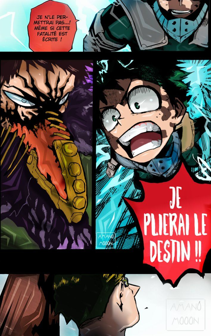 My Hero Academia Boku 154 Color Chapter Overhaul By Amanomoon My Hero Academia My Hero Hero