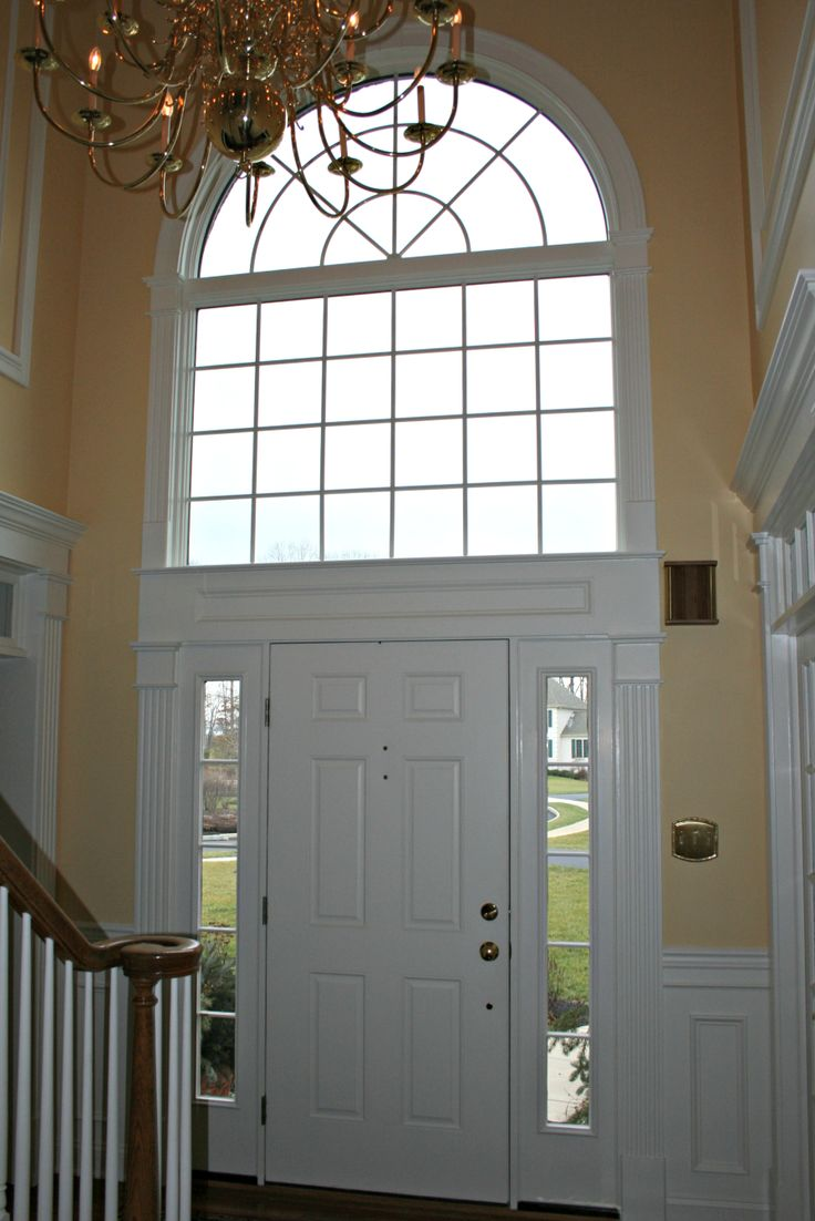 Neo Classic Front Door Tower Surround With Arched Top