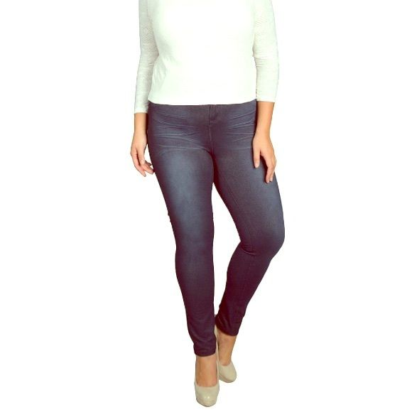 Plus Size Leggings Slim Style ✨COMING SOON✨ NWT Plus Size Legging made to look like jeans. 30% Polyester 5% Spandex 65% Cotton Denim Pants Leggings