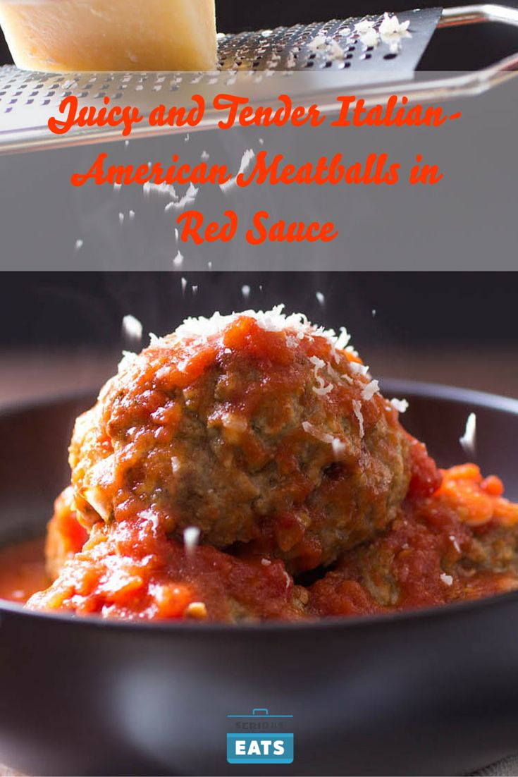 These meatballs are light, tender, and bursting with juice.