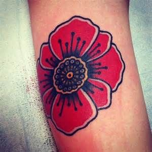 Traditional flower Tattoos - - Yahoo Image Search Results