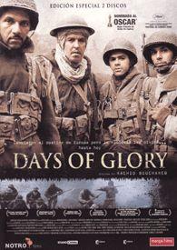 Days of glory (2006) Alxeria. Dir.: Rachid Bouchareb. Bélico. Drama. II Guerra Mundial. Baseado en feitos reais – DVD CINE 1824
