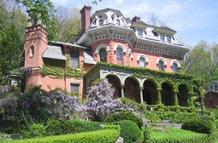 The Harry Packer Mansion, Model for Disney World Haunted Mansion for sale - $1,750,000