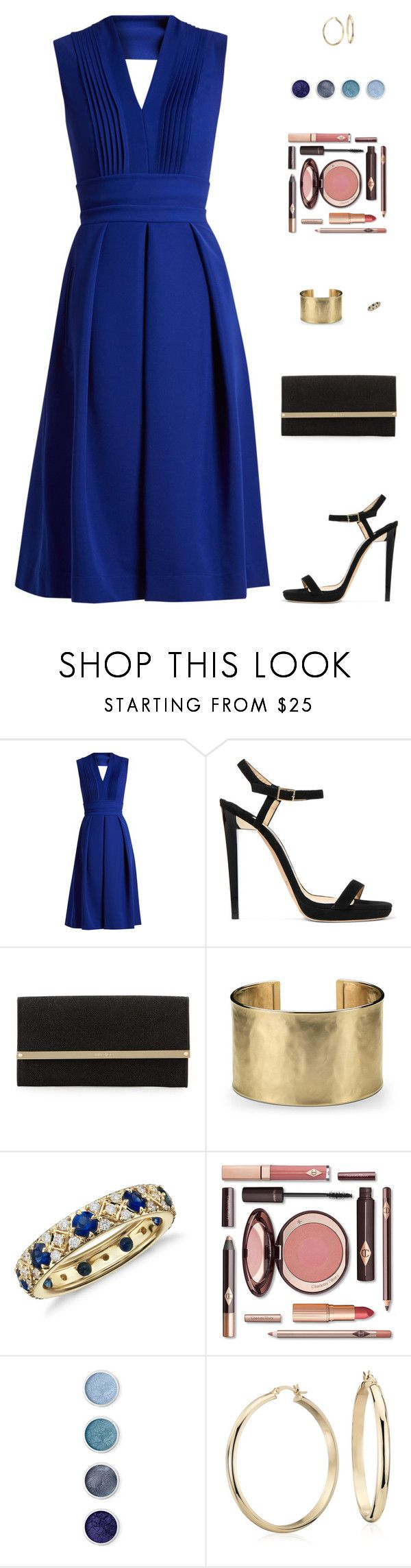 """Untitled #5046"" by mdmsb on Polyvore featuring Preen, Jimmy Choo, Blue Nile and Terre Mère"