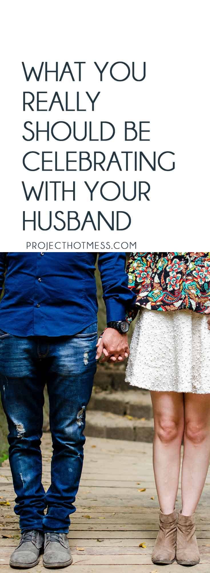 Celebrating milestones is important, but what about the daily things should be celebrating with your husband? Things that are as important as anniversaries.    #marriageadvice #marriagetips #relationshipadvice #marriedlife via @project_hotmess