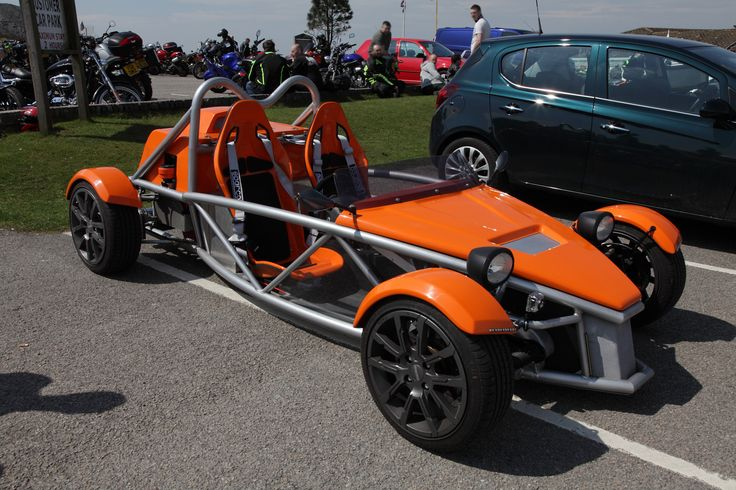 Spotted this wonderful Arial Atom at the Ponderosa today...