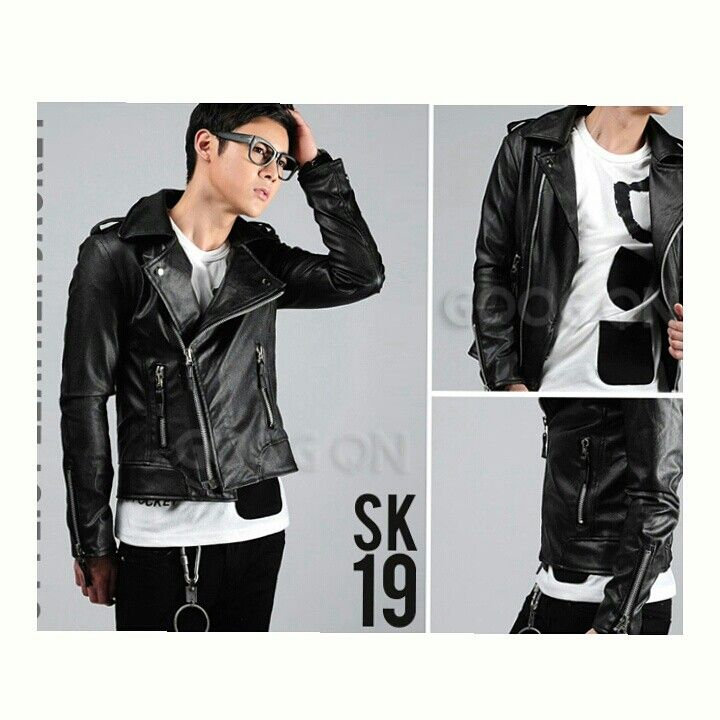 Jaket kulit sk_19   bahan :kulit ferarri   ready size S M L XL   WA 085701111308   Bbm D25C521D