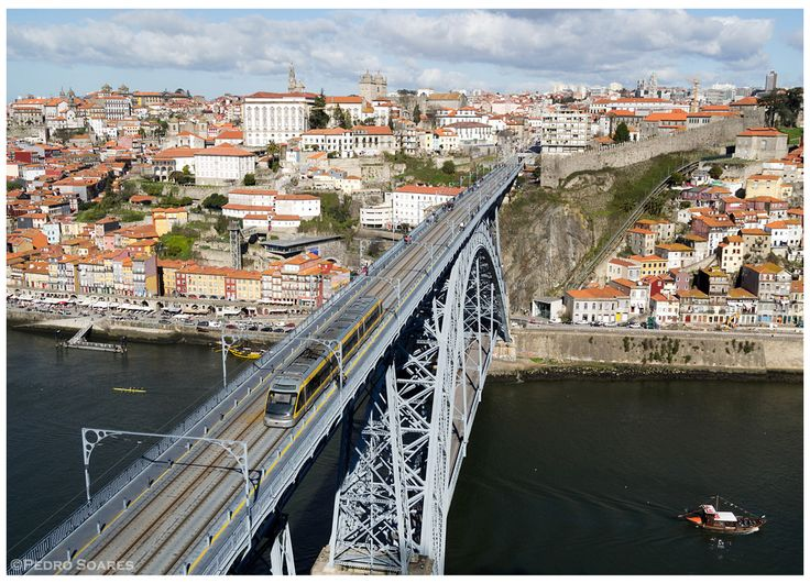 https://flic.kr/p/CLCLMp | V. N. de Gaia 21-02-15 | EuroTram 063 na Ponte D. Luís