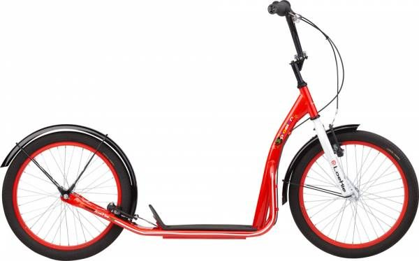Loekie Kick Scooter X-Plosion 20 Inch V-Brake - Red