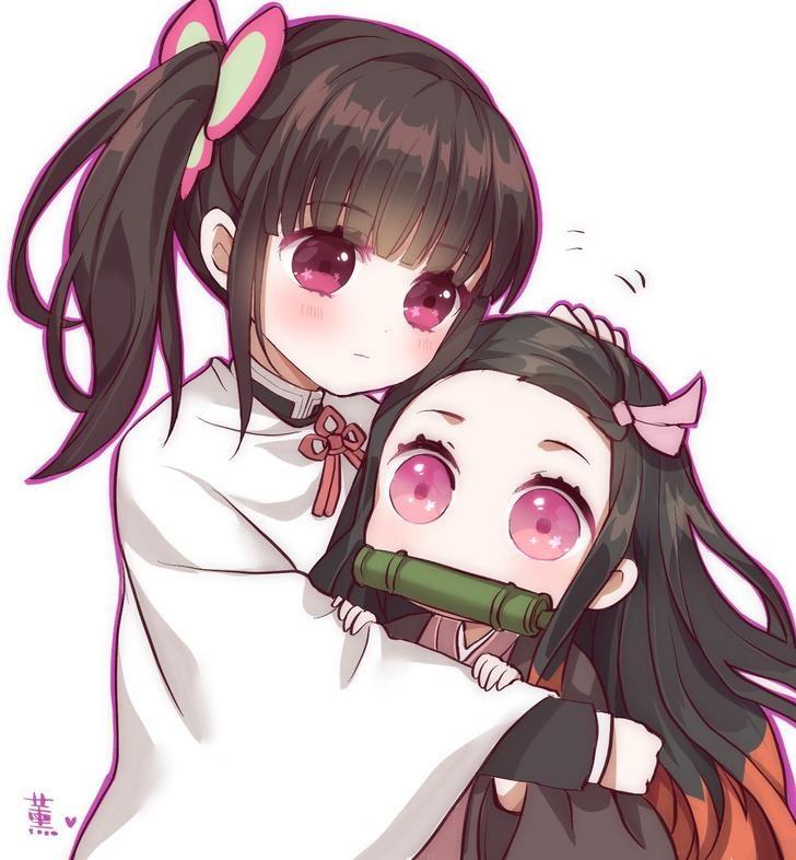 Nezuko Pat From Kanao Kimetsu No Yaiba Anime Demon Anime Chibi Anime