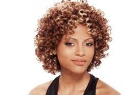 Image result for thin tight curly hairstyles