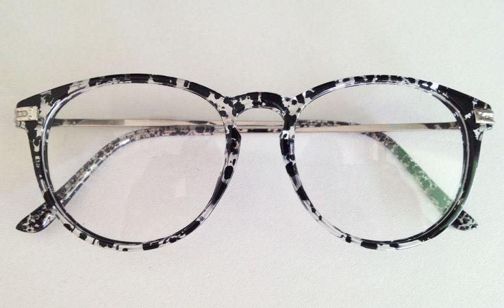 Armação Óculos Grau Estampada
