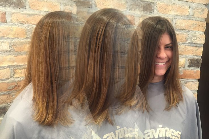 teased highlights & haircut done by: beth bach