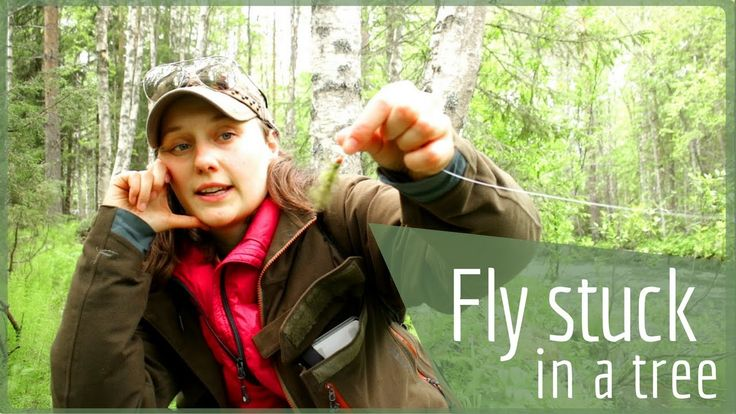 Fly Fishing Basics - How To Get Fly Out Of Tree