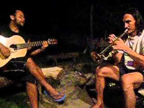 El ratón (Cheo Feliciano) - José y David, dúo Mazamorra, músicos colombi...
