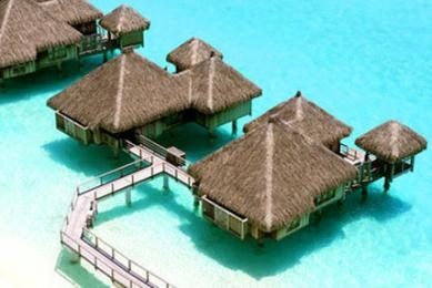 The St. Regis Bora Bora Resort voted one of the most romantic resorts in the world by TripAdvisor