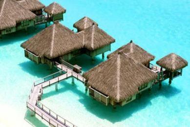 The St. Regis Bora Bora Resort voted one of the most romantic resorts in the world by TripAdvisor