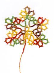 maple leaf: Nata Patterns, Tat Patterns, Written Patterns