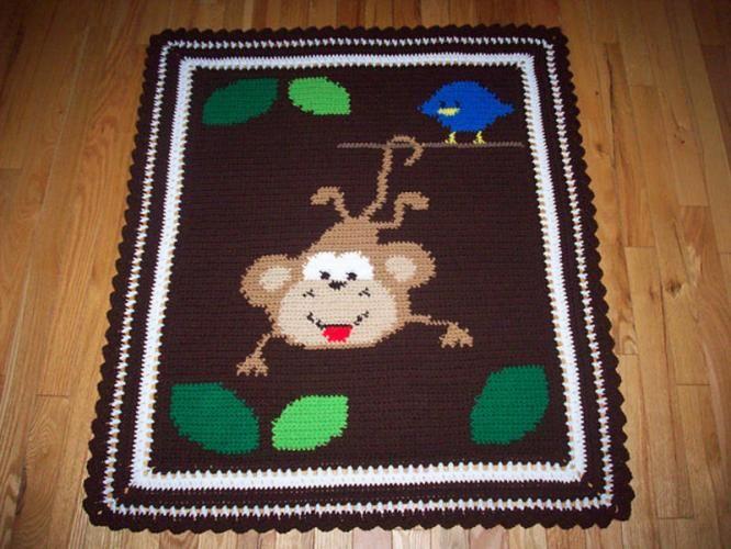 CROCHET PATTERN FOR BABY BLANKET Crochet For Beginners ...