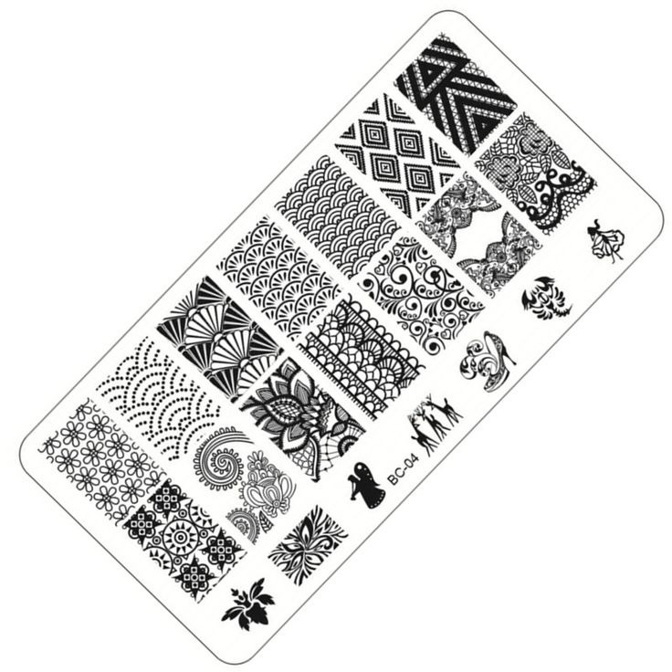 1 Sheet Lace&Flowers Series Stamping Nail Art Image Plate, 6*12cm Stainless Steel Template Polish Manicure Stencil Tools BC-04 Nail That Deal http://nailthatdeal.com/products/1-sheet-laceflowers-series-stamping-nail-art-image-plate-612cm-stainless-steel-template-polish-manicure-stencil-tools-bc-04/ #shopping #nailthatdeal