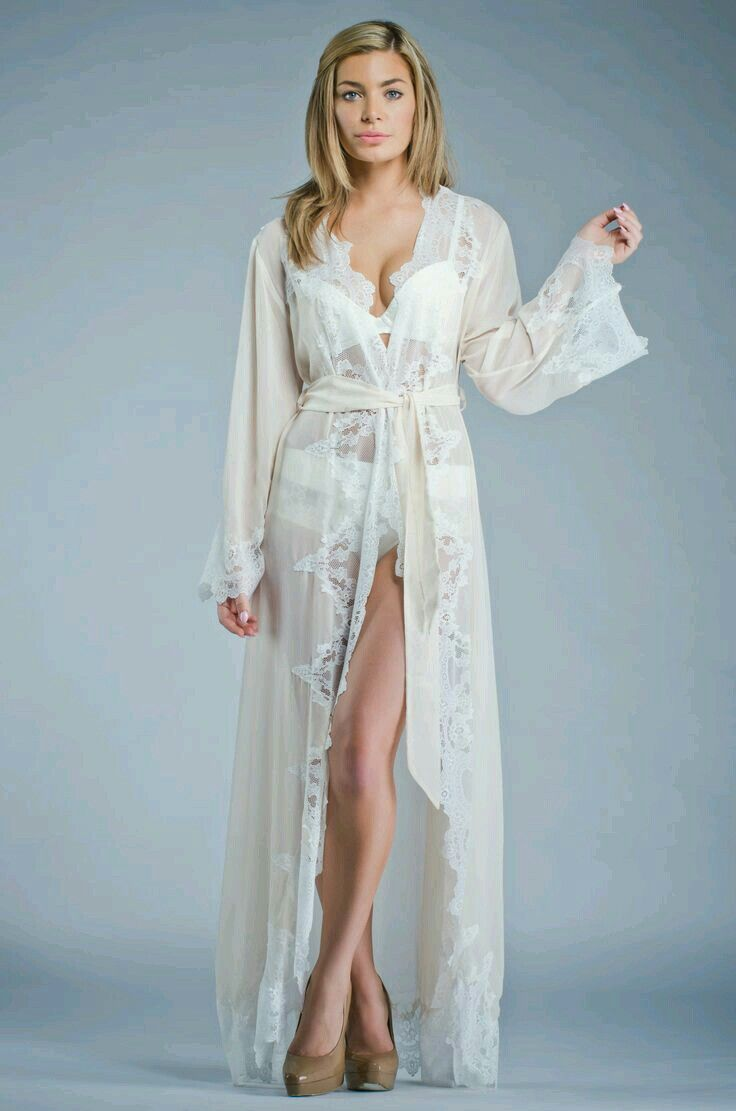 Pin by nilza lirio santos on penhoar e robes pinterest for Night dresses for wedding night