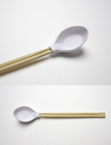 spoonplus - when a spoon met chopsticks - by Aïssa...