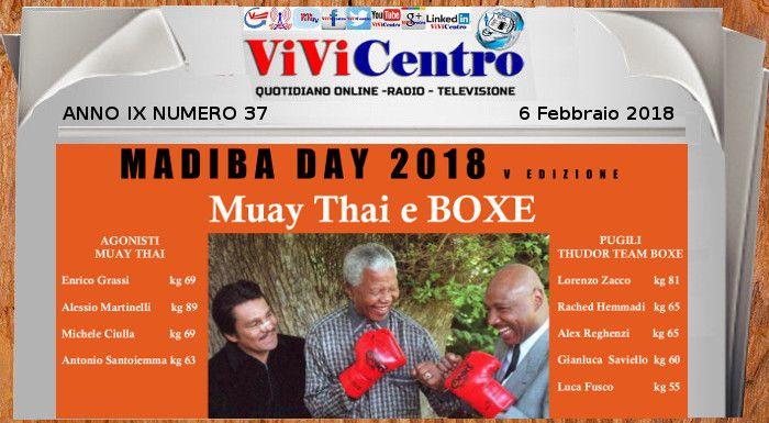 """"""" Madiba day """" V edizione: IV Trofeo Davide Cecoro (Diana Marcopulopulos)"""