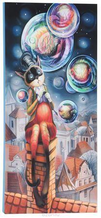 """КвикДекор Картина детская Пузыри  — 544.2р. -------------------- Картина КвикДекор """"Пузыри"""" - это прекрасное украшение для вашей гостиной, детской или спальни. Она привнесет в интерьер яркий акцент и сделает обстановку комфортной и уютной. Автор картины - Надежда Соколова - родилась в 1973 году в городе Дрездене. В 1986-1990 годах училась в Художественной школе города Новгорода. В 1995 году окончила с отличием рекламное отделение Новгородского училища культуры. В 2000 году защитила диплом на…"""