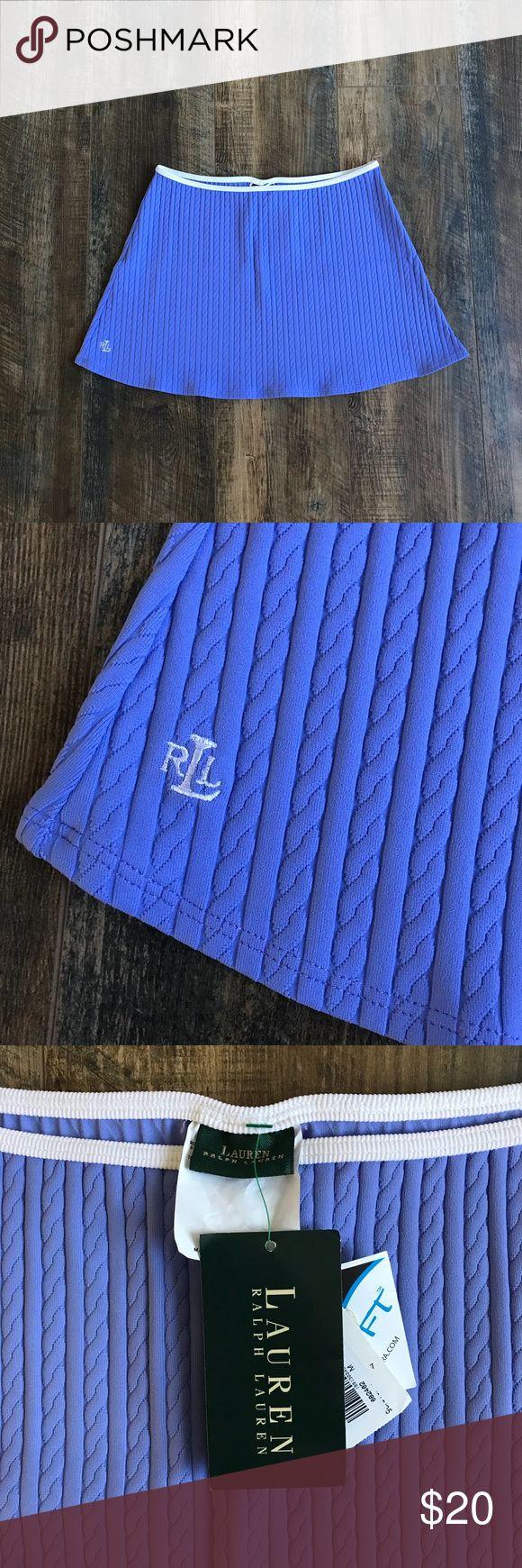 """New Ralph Lauren Purple Tennis Skirt Brand : Ralph Lauren   Size : Medium   Materials : 90% Tactel, 10% Lycra   Condition : Brand new with tags.   Measurements :   Waist around waist = 28""""   Length = 13.5"""" Ralph Lauren Skirts Mini"""