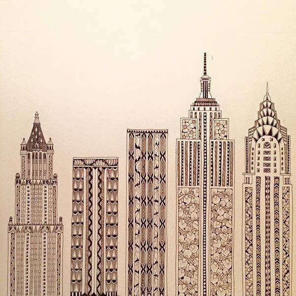 New York City Fair - YOKO FURUSHO ILLUSTRATION
