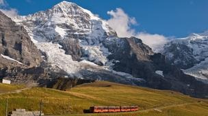 To the top of Europe by Swiss rail: Kleine Scheidegg, Switzerland. http://www.bbc.com/travel/feature/20120611-to-the-top-of-europe-by-swiss-rail?OCID=twtvl#