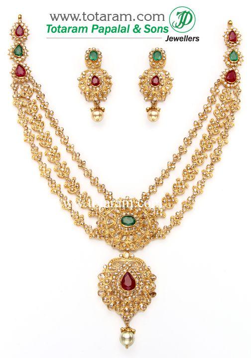 Totaram Jewelers  Buy 22 karat Gold jewelry   Diamond jewellery from India