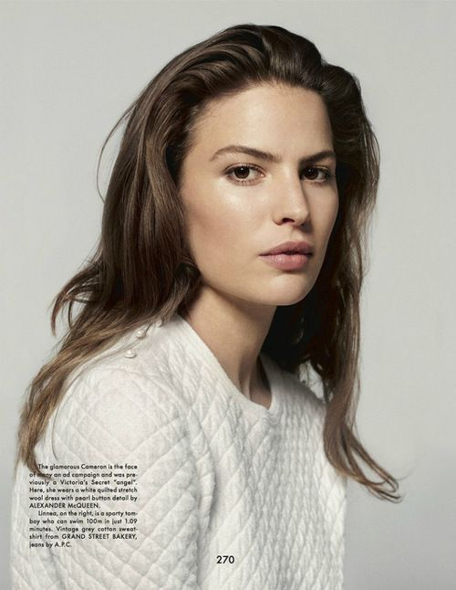 Cameron Russell http://www.youtube.com/watch?v=KM4Xe6Dlp0Y