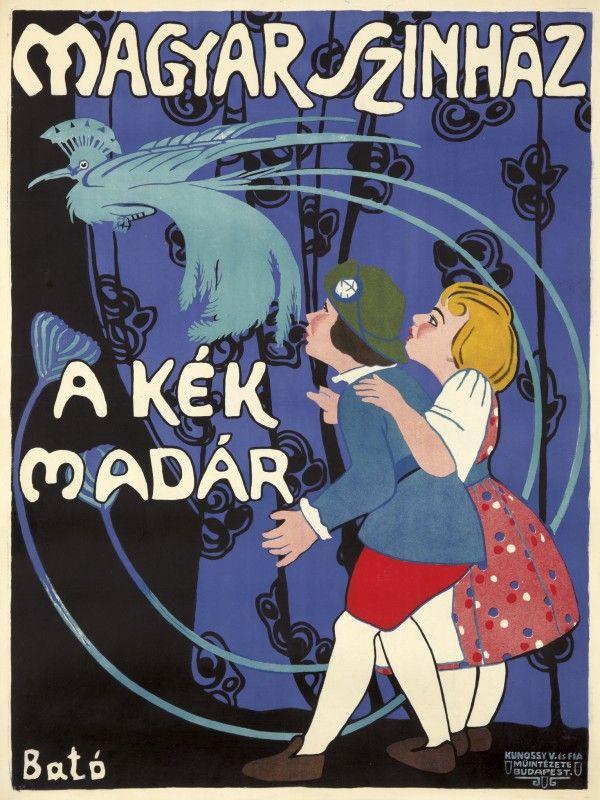 "Lot 96: ""Magyar Szinhaz"" by Jozef Bato, ca. 1905. Est: $2,000-2,500."