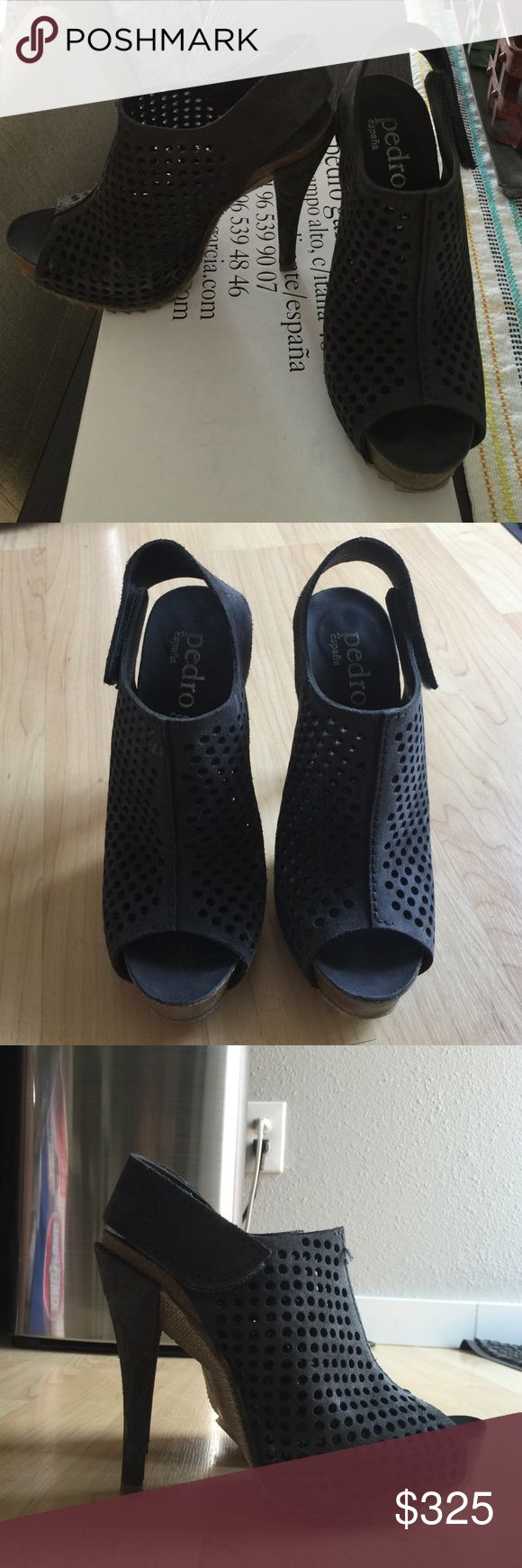 Pedro Garcia Candela size 36.5 Pedro Garcia Candela in Coal Castoro. Size 36.5. Only worn less than a handful of times, but extremely comfortable! Pedro Garcia Shoes Heels