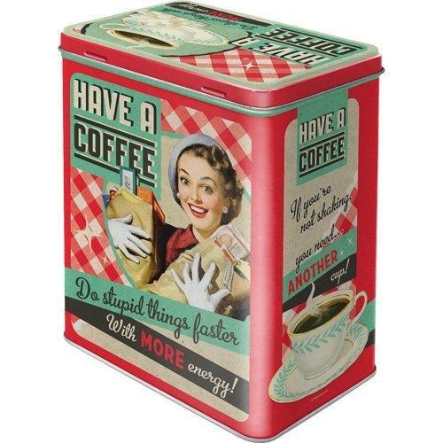Kaffeedose Nostalgie Have a Coffee