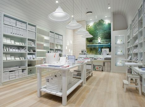 White Kikki K store I know this is a store but it would be the most AMAZING craft and wrapping room/office!